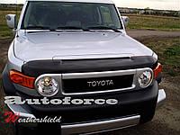 Мухобойка на Тойоту ЭфДжи Крузер с 2007 Хик на крепежах