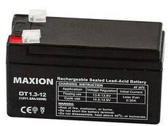Аккумулятор промышленный  Maxion  UPS MAXION 12- 1.3 (12V,1.3Ah)