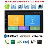 Автомагнитола 2 DIN Pioneer Pi-707 slim NEW 2дин GPS Android 8.1 + WiFi 16 гб, фото 1