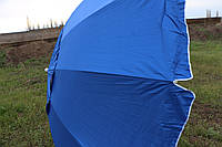 Зонт  2.5м 12 спиц с серебряным напылением и ветровым клапаном