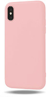 Чехол из тонкого матового TPU для Iphone 10 TPU розовый / чехол на айфон / чохол / ультратонкий / бампер / накладка X / Iphone