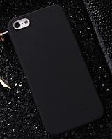 Чехол накладка для iPhone 7 TPU черный