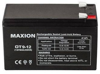 Аккумулятор промышленны UPS MAXION 12- 9 (12V,9Ah), фото 2