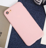 Чехол из тонкого матового TPU для Iphone 6 plus розовый / чехол на айфон / чохол / ультратонкий / бампер / накладка