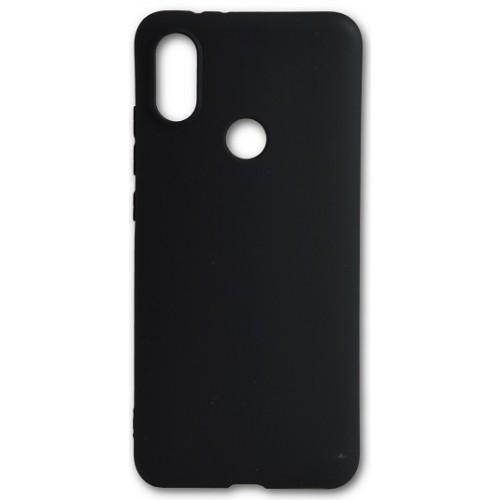 Силиконовый чехол Man for Xiaomi Mi A2 Black / чехол для сяоми Xiaomi Mi A2 черный