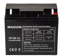Аккумулятор промышленны OT MAXION 12-20  (12V,20Ah)
