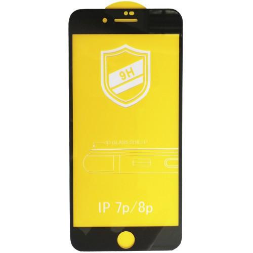 Защитное 3D стекло для iPhone 8 Plus Black противоударное
