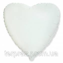 Фольгированный шар сердце в цвете 48 см