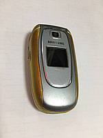 Мобильный Телефон Samsung E330 золотой  Б-У