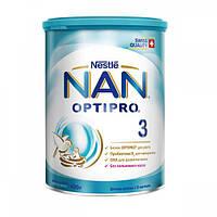 """Сухая молочная смесь """"NAN"""" №3 400 г"""