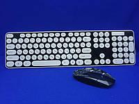 Комплект беспроводная клавиатура и мышь HK3960 + подарок, фото 1