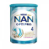 """Сухая молочная смесь """"NAN"""" №4 400 г"""
