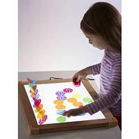 Светодиодный планшет для исследования цвета и света Guidecraft  для творческих занятий с детками от 3 лет