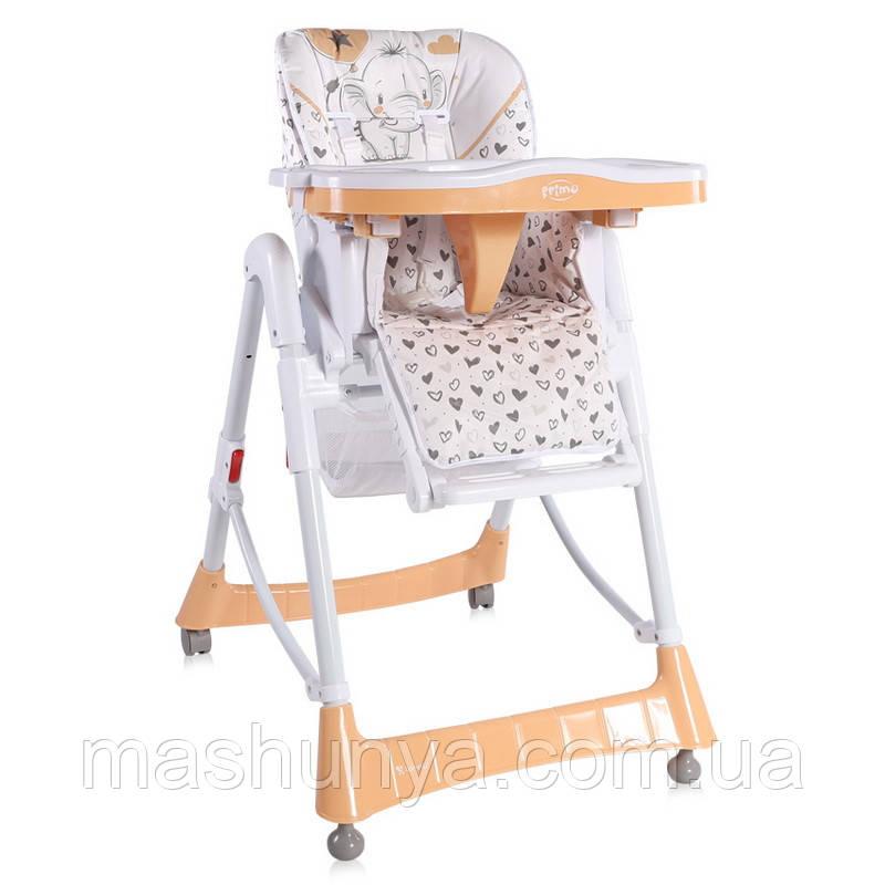 Стільчик для годування Bertoni Lorelli Primo з регульованим сидінням