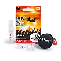 Беруши для концертов, клубов, музыкантов Alpine PartyPlug Pro + спрей + универсальные Venitex