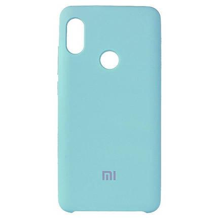 Чехол накладка (Силикон кейс) Xiaomi Mi 5X  голубой, фото 2