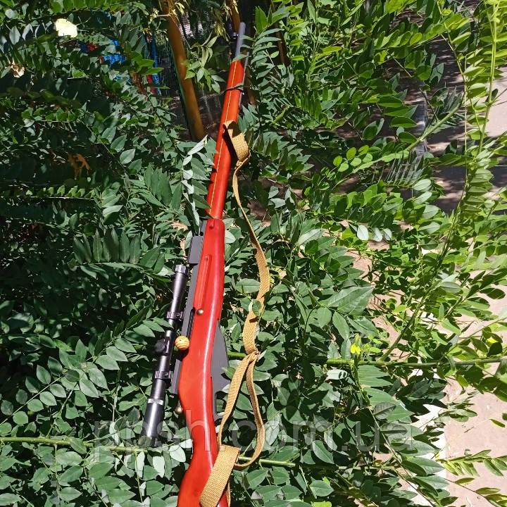 Снайперська Гвинтівка Мосіна макет з дерева
