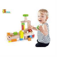 """Конструктор - высококачественная игрушка для маленьких архитекторов от 3 лет """"Занимательные горки"""""""