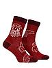 Носки с принтом женские Mushka Leonardo (LEON01) 36-40 Красные, фото 2