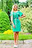 Платье 0899 / зеленый