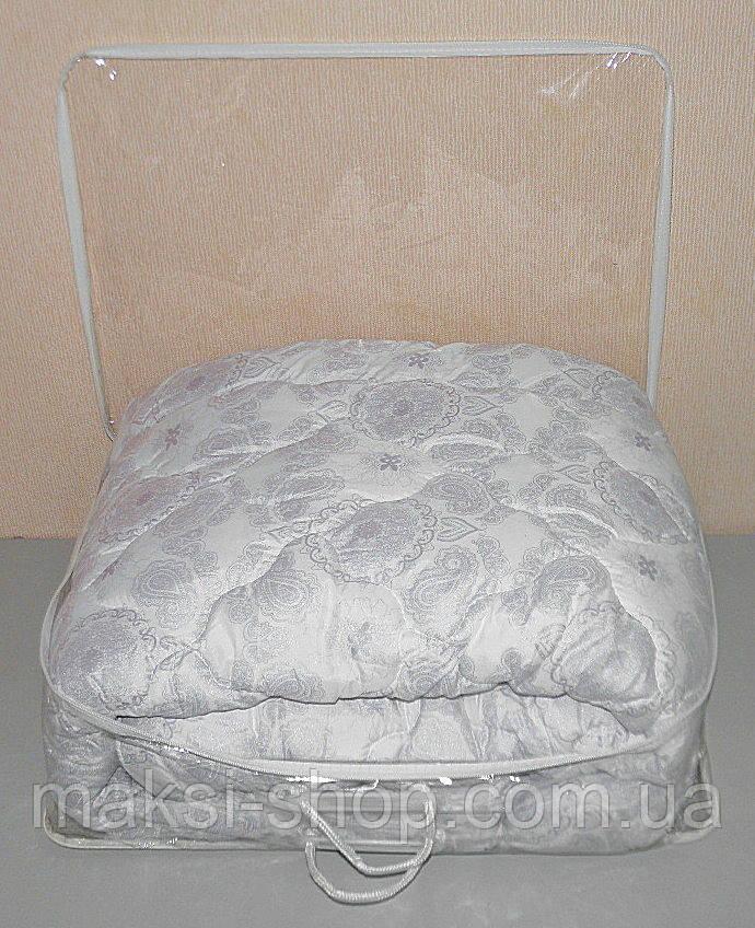 Одеяло полуторное в подарочном чемодане (ткань микрофибра наполнитель холлофайбер) (Х-467)