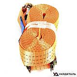 Ремень стяжной 10м*50мм 3 тонн (пласт. ручка)   СИЛА (Украина), фото 6