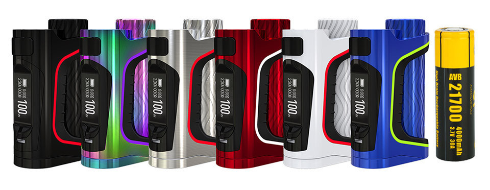 Eleaf iStick Pico S 21700 100W Mod + аккумулятор 21700 - Батарейный блок. Оригинал
