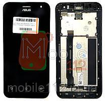 Модульный дисплей Asus ZenFone 2 (ZE500CL Z00D) Экран + тачскрин с передней панелью черный