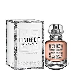 Женская парфюмированная вода Givenchy L'Interdit Edition Couture  80 мл