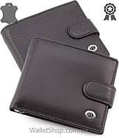 Мужской кожаный кошелек с зажимом и монетницой ST Leather