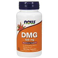 Активне довголіття NOW DMG 125 mg (100 кап) (105304) Фірмовий товар!