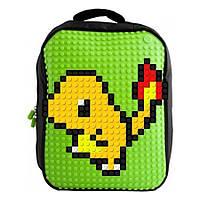 Рюкзак Upixel Classic школьный ранец (зелёный/чёрный)