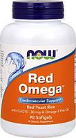 Комплекс незаменимых жирных кислот NOW Red Omega (90 капс)