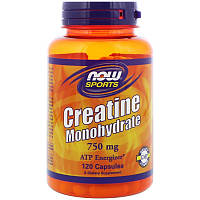 Креатины NOW Creatine 750 mg (120 капс)
