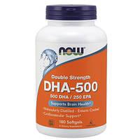 Активное долголетие NOW DHA 500/250 EPA (90 капс)