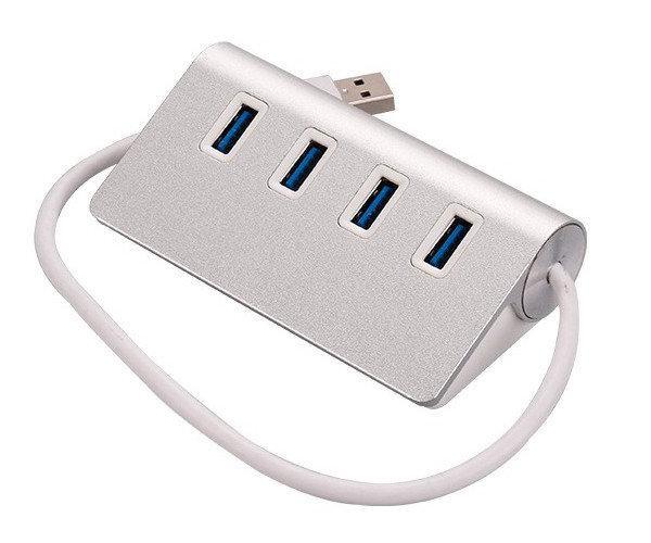 USB HUB 4 на порта металлический