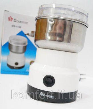 Кофемолка электрическая бытовая Domotec MS-1106, фото 2