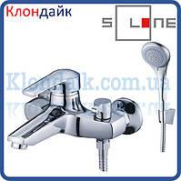 Смеситель для ванны короткий Solone SITB3