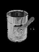 Регулятор тяги нерж. D 110/170 L=1000