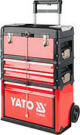 Инструментальная тележка на колёсах YATO YT-09101 (Польша)