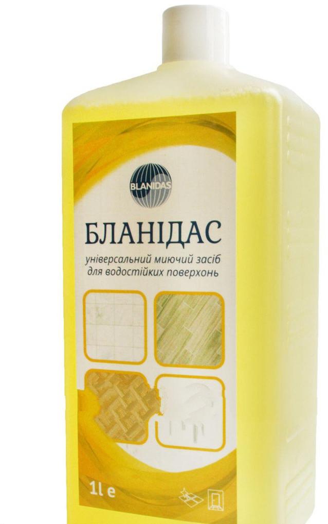 Бланидас - Универсальное моющее средство для водостойких поверхностей, 1 л