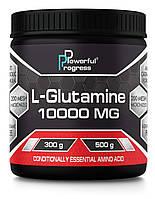 Глютамин Powerful Progress L-Glutamine (300 г)