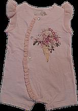 Комбінезон літ. дівч. Cossiope 481269, 74 рожевий