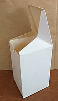 Коробка картонная для полуфабрикатов, фаст-фуд на 500гр. (пельмени, вареники, блинчики, хинкали), 14-8-9см.