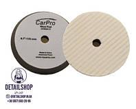 CarPro Wool Foam Cutting Pad 5 - Шерстяной полировальный круг 155 мм., фото 1