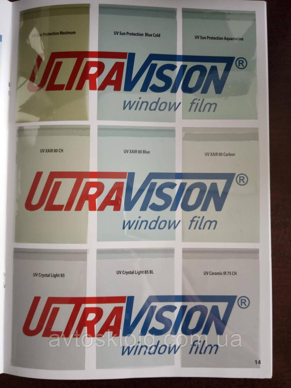 Атермальные пленки UltraVision