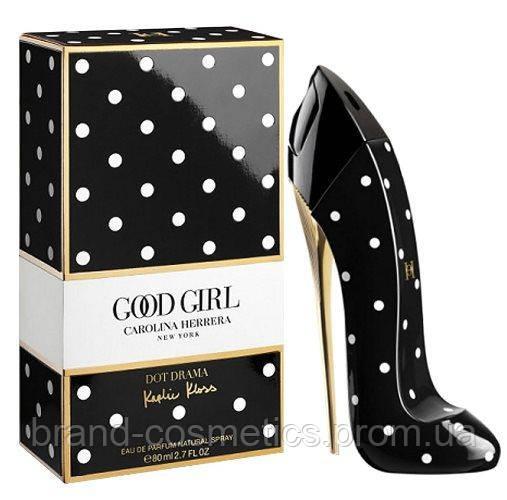 Женская парфюмированная вода Carolina Herrera Good Girl Dot Drama  80 мл