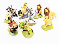 Набор игрушек с мультфильма Король Лев 9 шт, фото 1