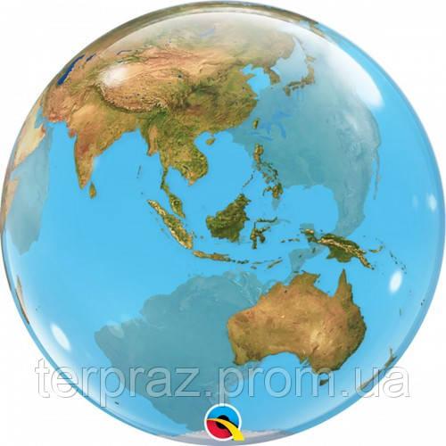 """Bubble 22"""" (56см) планета Земля"""