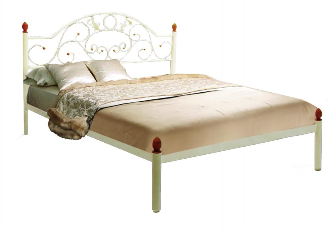 Кровать Металл-Дизайн Франческа Белый